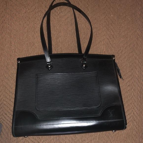 Louis Vuitton Bags   Lv Black Epi Leather Madeleine Gm Shoulder Bag ... c6ef3e8da6